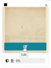 """Cliquer sur le bouton """"Edit"""" présent sur chaque carte représentant une document-part"""